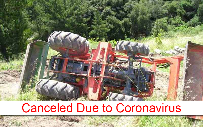 2020 Farm Tractor Safety Course Canceled Due to COVID 19