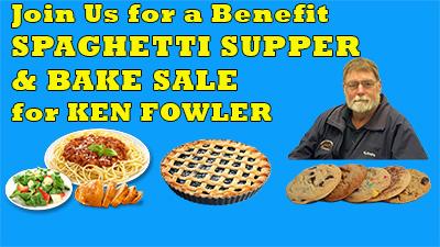 Ken Fowler Benefit Supper