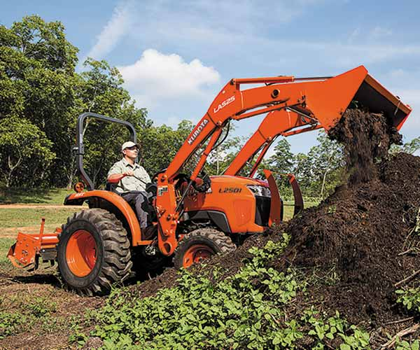 Kubota L2501DT Compact Tractor