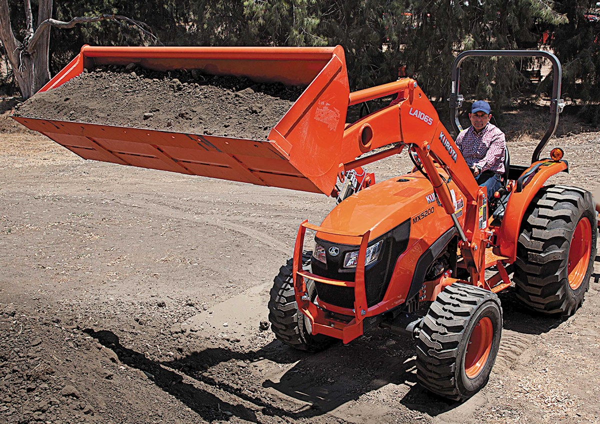 Kubota MX5200_with Front End Loader